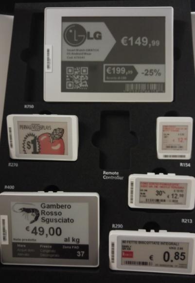 Electronic Shelf Label Infortab Atl International